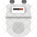Electric Meter Reading Icon