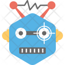 Electric Robot Icon