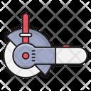 Saw Blade Construction Icon