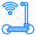 Electric Scooter Wifi Wireless Icon