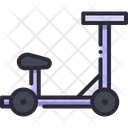 Seat Scooter Vehicle Icon