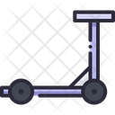 Scooter Electric Vehicle Icon