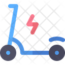 Electric Scooter Gadget Icon
