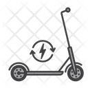 Electric Scooter Scooter Electric Icon