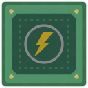 Shock Electric Hip Icon