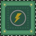 Electric Сhip Icon