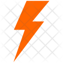 Electric Shock Lightning Icon