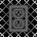 Electric Socket Icon