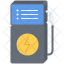 Electric Filling Station Icon