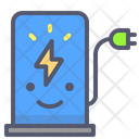 Electricity Power Station Plug Icon