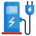 Ev Electric Vehecle Icon
