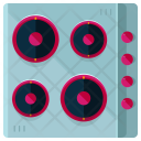 Electric Stove Top Icon