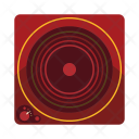 Electric Stove Gas Icon