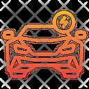 Electric Supercar Icon