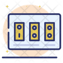 Electric Switch Board Icon