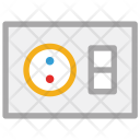 Electric Switchboard Electrical Icon