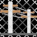 Power Mast Electric Icon