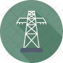 Electric Tower Electricity Icon