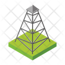 Electric Tower Electric Supply Transmission Tower Icon