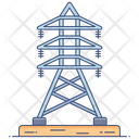 Transmission Tower Electric Tower Electrical Pillar Icon