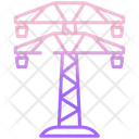 Electric Tower Electric Power Electric Energy Icon