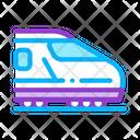 Electric Passenger Train Icon