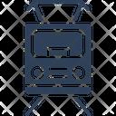 Electric Train Locomotive Train Icon