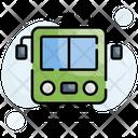 Electric Suburban Train Icon