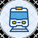 Electric Train Train Transport Icon