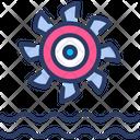 Electric Turbine Icon