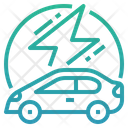 Electric Vehicle Electric Car Car Icon