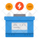 Electric Vehicle Battery Icon