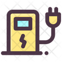 Electric Vehicle Charger Icon