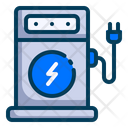Electric Vehicle Charging Station Icon