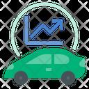 Electric Vehicle Market Growth Ev Electric Car Icon