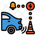 Electric Vehicle Sensor Ca Parking Sensor Parking Sensor Icon