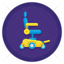 Electric Wheelchair Icon