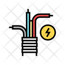 Electricity Cable Color Icon