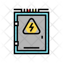 Electrical Box Color Icon