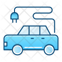 Electrical car Icon