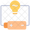 Electrical Circuit Electricity Battery Icon