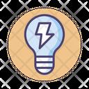 Electrical Energy Rechargable Energy Green Energy Icon