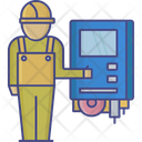 Electrical Engineer Electrical Service Electrical Operator Icon