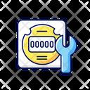 Equipment Repair Meter Icon