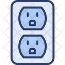 Current Electrical Electrical Outlet Icon