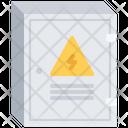 Electrical Panel Box Icon