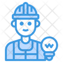 Electrician Avatar Occupation Icon