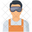 Electrician Engineer Electric Icon