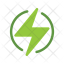 Electricity Recycle Electricity Electriuc Charge Icon