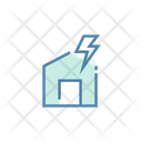 Electric Electricity Home Icon